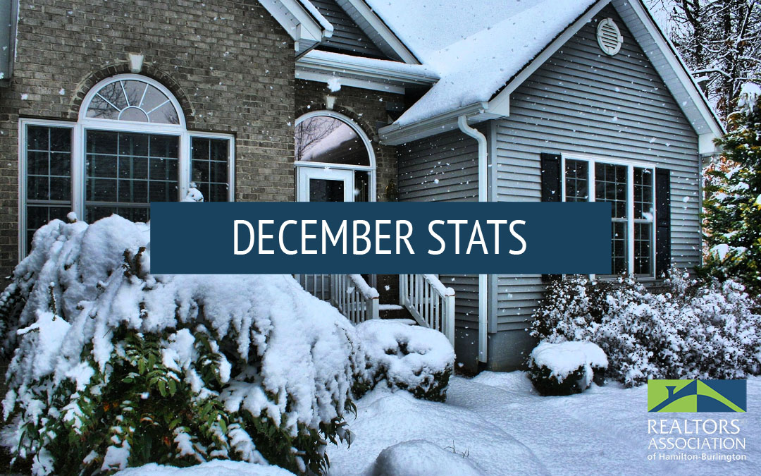 December Hamilton and Burlington Real Estate Statistics