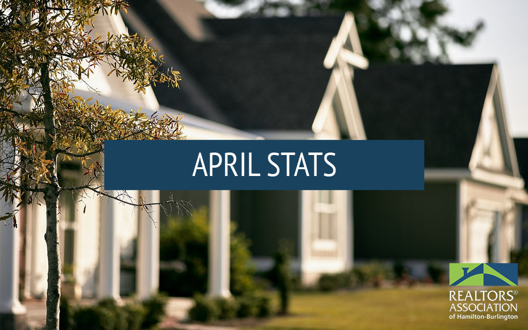 Real Estate Market Statistics – April 2020